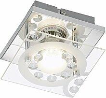 Briloner Leuchten LED Wandleuchte, Wandlampe,