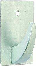 BRINOX Mini Kleiderbügel Selbstklebend 3.1x5.1x3.3 cm Chrom ma