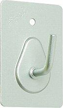BRINOX Mini Kleiderbügel Selbstklebend 5.3x3.6x2.6 cm Chrom ma