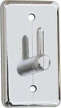 BRINOX Mini Kleiderbügel Selbstklebend Grande silber