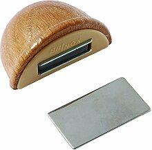 BRINOX Türstopper Halter mit Magnet 4.8x3.6x2.5 cm Eiche