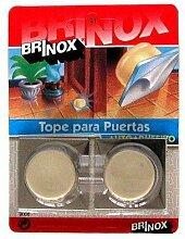 BRINOX Türstopper Tür klein Wandtattoo 2x4.1x4.1 cm beige