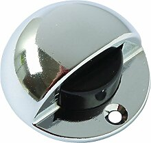 BRINOX Türstopper Tür Luxe 4.4x2.8x1.9 cm Chrom