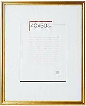 Brio Bilderrahmen, Holz, Gold, 30 x 40