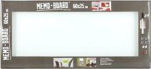 Brio Memoboard 25X60 Weiss