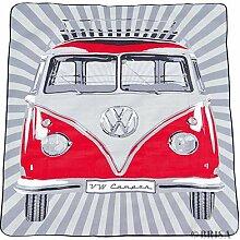 Brisa VW Collection by Picknickdecke, klassisch ro