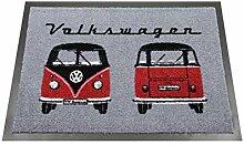 BRISA VW Collection Fußmatte mit VW Bus T1