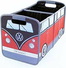 Brisa VW Collection VW T1 Bus Faltbox - Rot/Schwarz