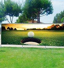 Brise Vue Déco bedruckt: Golf, 100%, 180x70cm