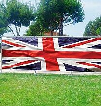Brise Vue Déco Flagge Englisch, 100%, 340x132cm