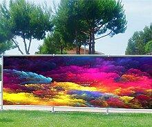 Brise Vue, Garten, Terrasse, Balkon Deko Design Farben, 100%, 250x97cm