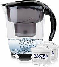 BRITA Elemaris XL 3,5L Wasserfilter schwarz inkl. 2x Maxtra Kartusche