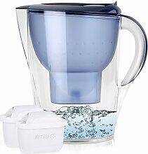 BRITA Marella XL 3,5L Wasserfilter Blau inkl. 2x