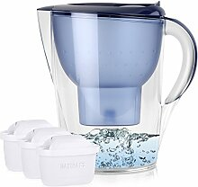 BRITA Marella XL 3,5L Wasserfilter Blau inkl. 3x
