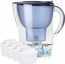 BRITA Marella XL 3,5L Wasserfilter Blau inkl. 4x