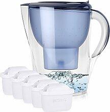 BRITA Marella XL 3,5L Wasserfilter Blau inkl. 5x