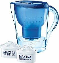 Brita Wasserfilter Marella XL, blau, Vorteilspaket