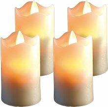 Britesta LED Kerzen Timer: 4er Set