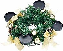 Britesta Weihnachtsdeko-Kranz: Adventskranz mit