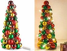 Britesta Weihnachtskegel: LED-beleuchtete