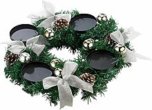 Britesta Weihnachtskranz: Adventskranz mit