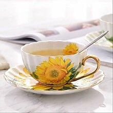 Britische Knochen China Kaffeetasse Kreative
