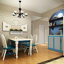 Britischen Stil Tapete grün Kinder Zimmer Vliestapete Schlafzimmer Wohnzimmer Wände , soil yellow