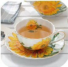 British Bone Kaffeetasse, kreatives Design,