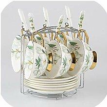 British Royal Porzellan-Kaffeetassen-Set aus