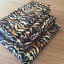 British Wahl Leinen 4PCS-Bettlaken-Set New Animal Tiger Print Great Qualität UK King Size (35cm) Drop Passform Matratze 650-thread-count Satin
