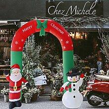 Broadroot Aufblasbarer Bogen Arch Weihnachtsmann