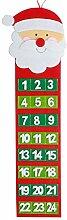 Broadwage Weihnachten Dauerkalender,