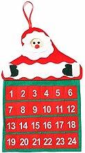 Broadwage Weihnachten Dauerkalender -