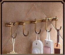 Bronze,Antike Kleider Haken Europäisch Anmutenden Badezimmerregale WC Bad-accessoires-M