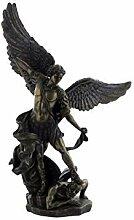 Bronze Effekt Erzengel Engel Figur-Michael