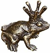 Bronze Frosch, Tierfigur für Garten & Teich