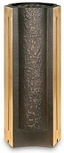 Bronze Grabvase modern / dunkelbraun - Florifera