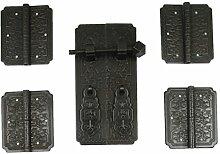 Bronze Schrank Türgriff An Der Oberseite/Chinesische Antik Schrank Schrank Handschuhe-C