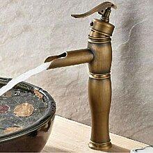 Bronze Waschbecken Waschbecken Wasserhahn