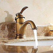 Bronze Wasserhahn Waschbecken Wasserhahn mit