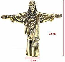 Bronzefigur Jesus Christus der Erlöser Statue