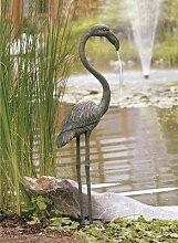 Bronzevogel wasserspeiend