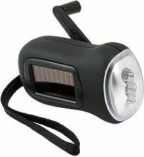 Brookstone Drive Solar-Taschenlampe mit 3 LEDs