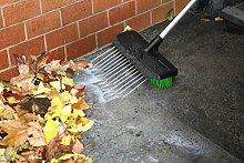 broomjet: Reinigungsbürste 3in 1. Barre, Lava und reinigt das Auto, im Haus und Garten