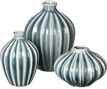 Broste Copenhagen - Amalie Vase, blue mirage