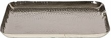 Broste Kerzenschale Kyler Aluminium 38x38cm
