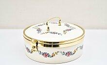 Brotbox aus Keramik von Ditmar Urbach, 1920er