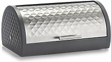 Brotbox Zeller Present Farbe: Schwarz/Silber