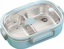 Brotdose,Bento Box für Kinder Rostfreier Stahl