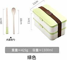 brotdose Bento box Zweischichtige Brotdose